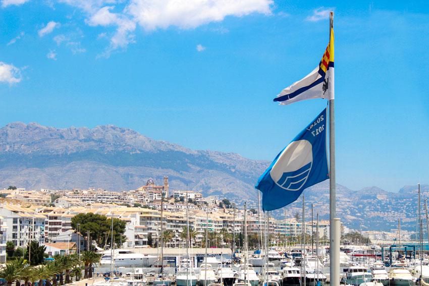 Hoy se celebra en Altea la entrega de Banderas Azules de toda la Comunitat Valenciana