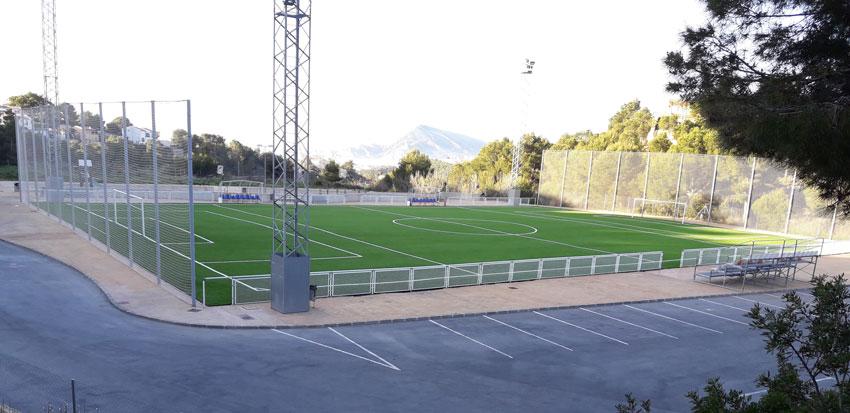 El camp de futbol d'Altea la Vella torna a estar operatiu