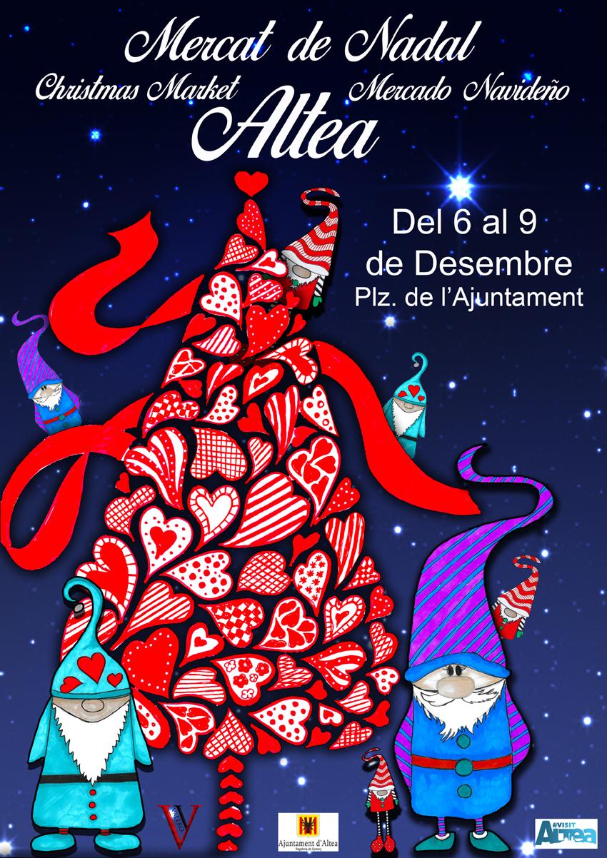 Atracciones sostenibles y actividades infantiles llenarán el Mercat de Nadal