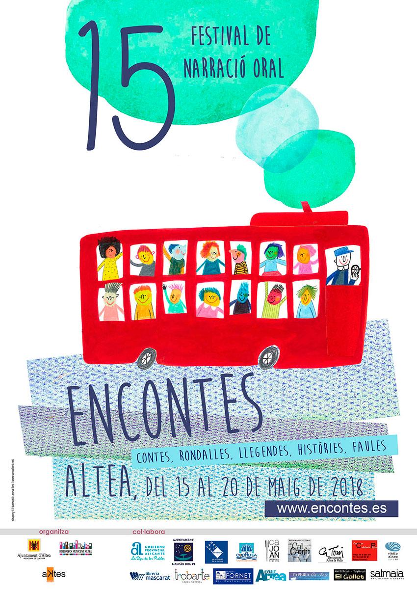Educació organitza els tallers gratuïts d'il•lustració i narració oral ''Il•lustrem'' i ''Tastet de contes, vols explicar un conte'' que es desenvoluparan al festival ''Encontes''