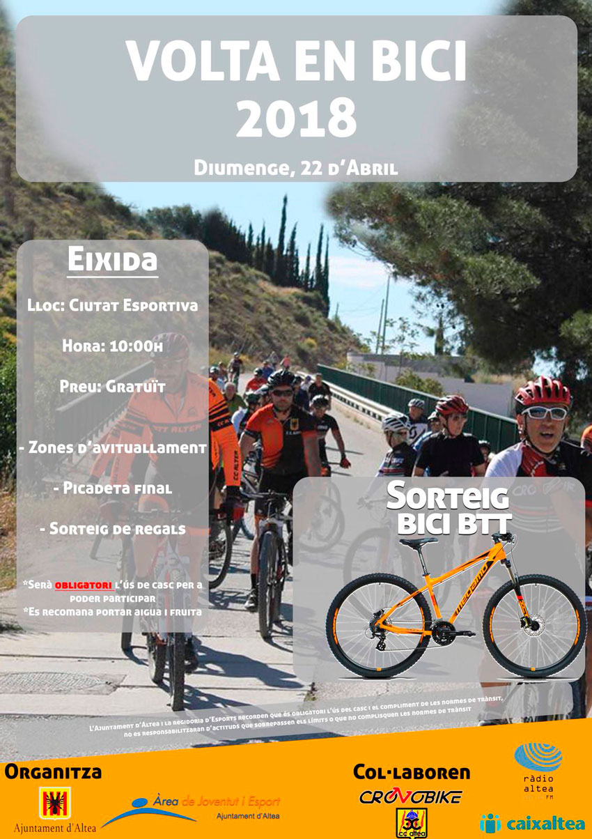 """Esports organitza una nova edició de la """"Volta en Bici"""""""