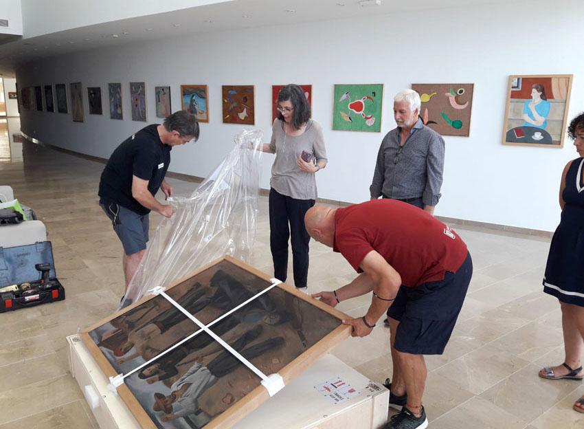 L'Ajuntament posa en valor la figura de Navarro Ramón amb una exposició retrospectiva presidida per l'obra ''Et Venjarem''