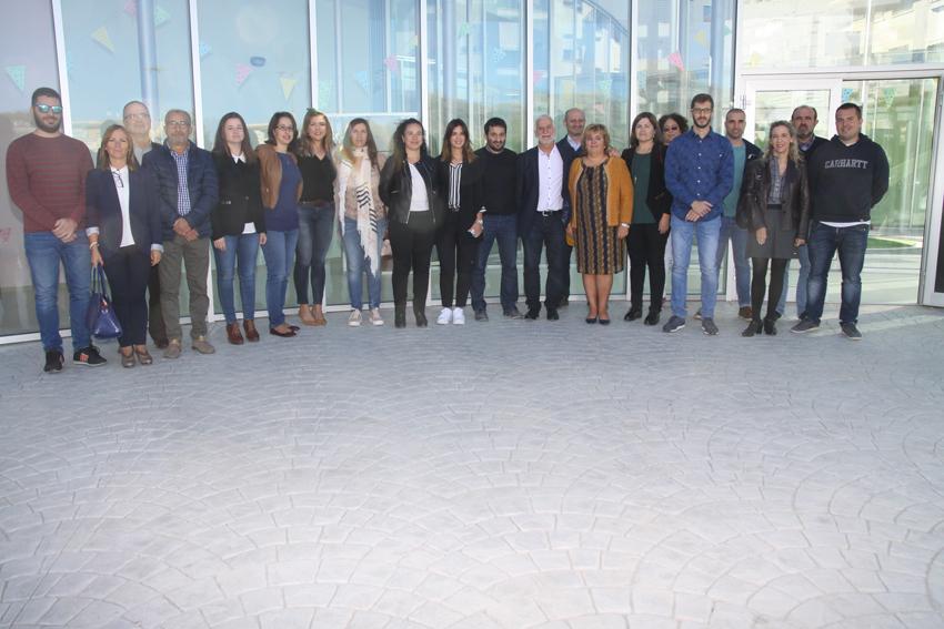 """El Conseller d'Educació Vicent Marzà visita l'Escoleta Pública Infantil """"Mini-Món"""""""