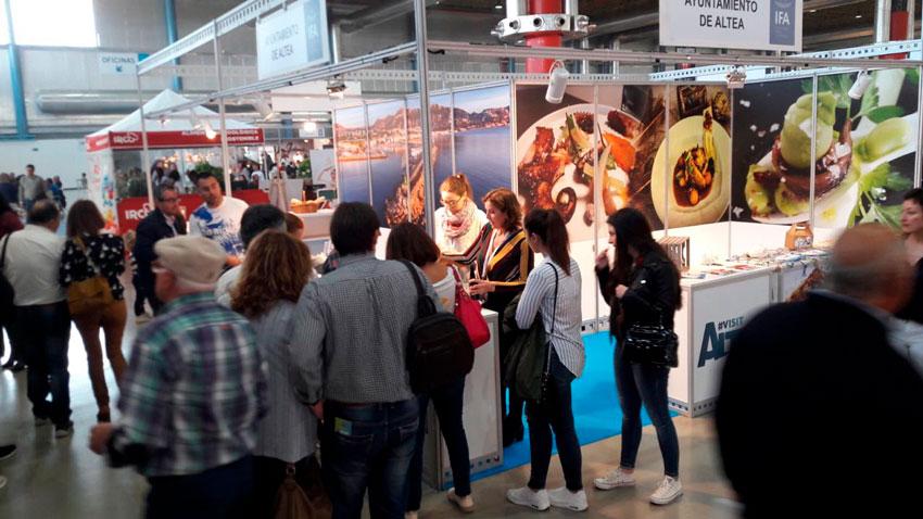 Gran promoció d'Altea i la seua gastronomia en la I edició de la Fira Alacant Gastronòmica Estil de vida Mediterrani