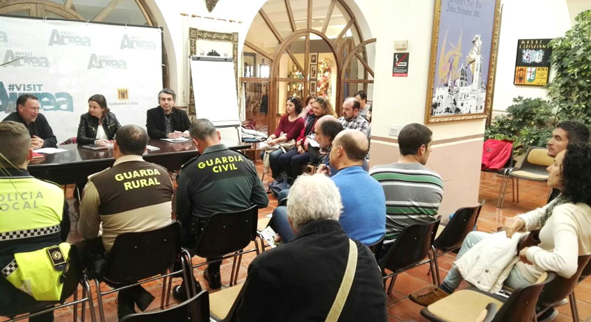 Jose Ramón Viejo, director del Parc Natural de Serra Gelada participa en el Consell de Medi Ambient d'Altea