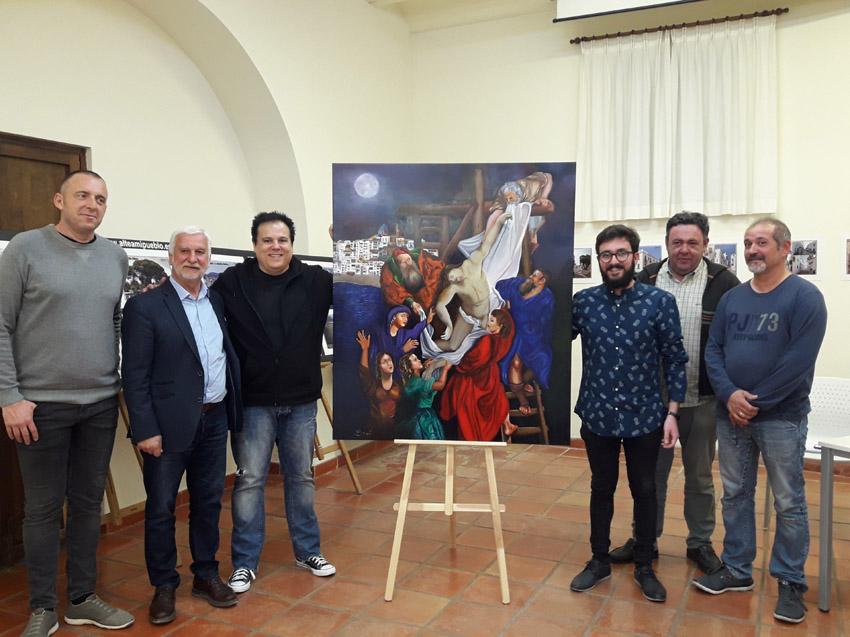 Espectacular cartell de Denis Besó per a La Passió d'Altea 2019