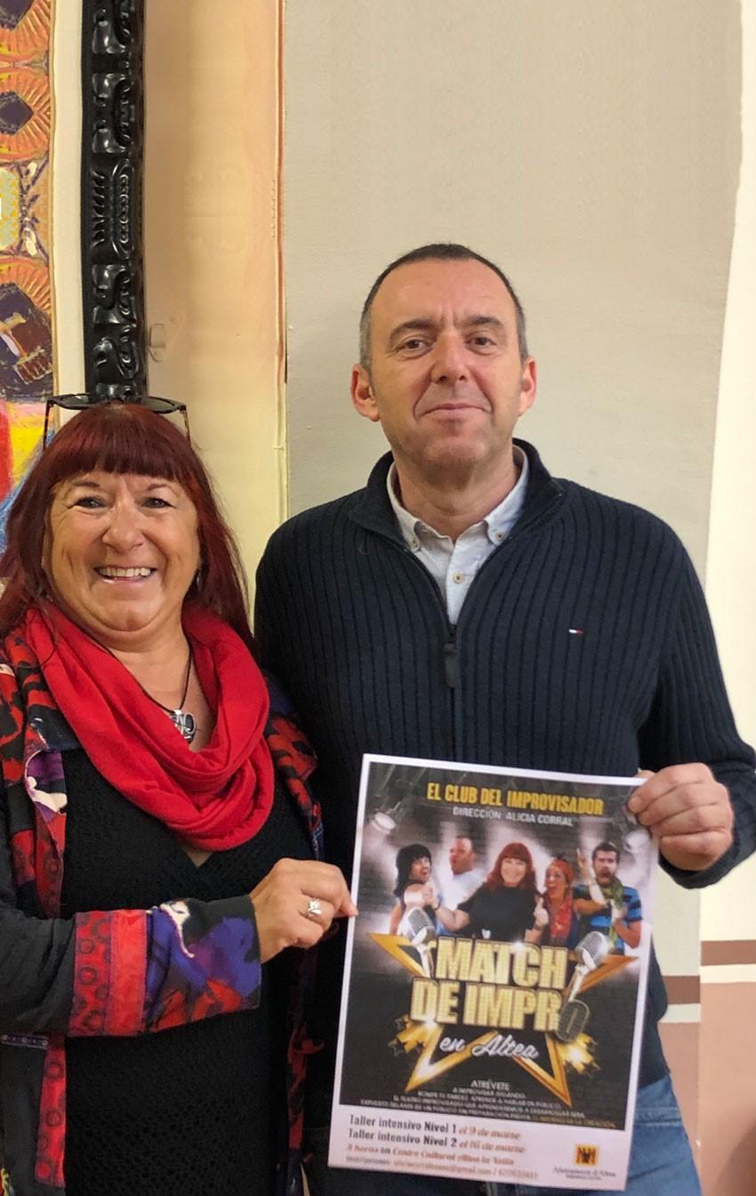 Cultura anuncia un taller d'improvisació teatral al Centre Cultural d'Altea la Vella