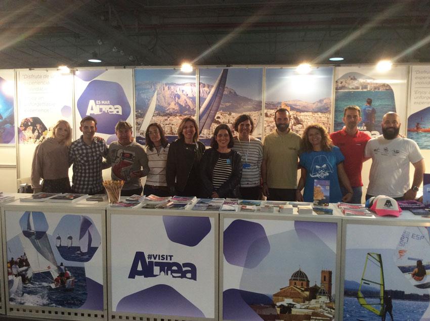 Turisme realitza un balanç positiu de la presència d'Altea en MEDSEA