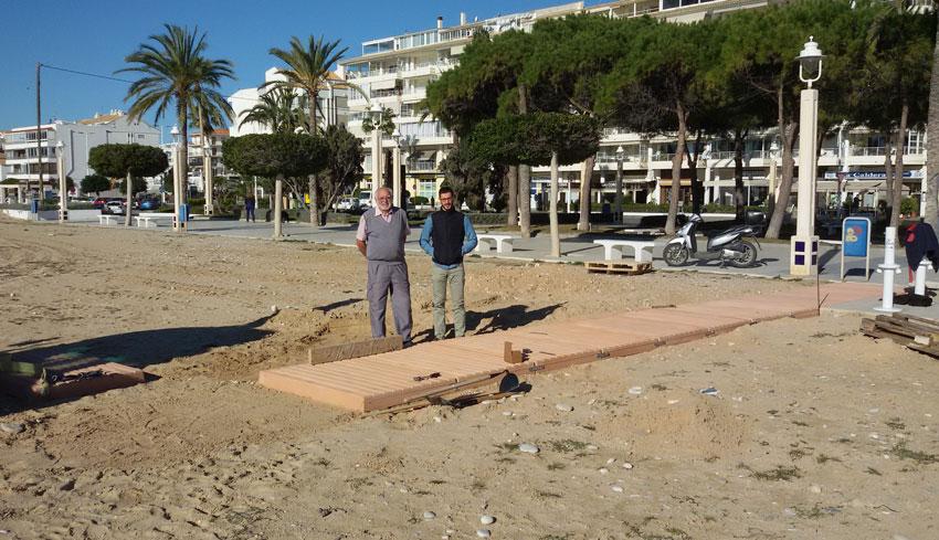 Les platges alteanes tindrán servei de socorrisme en Setmana Santa per primera vegada