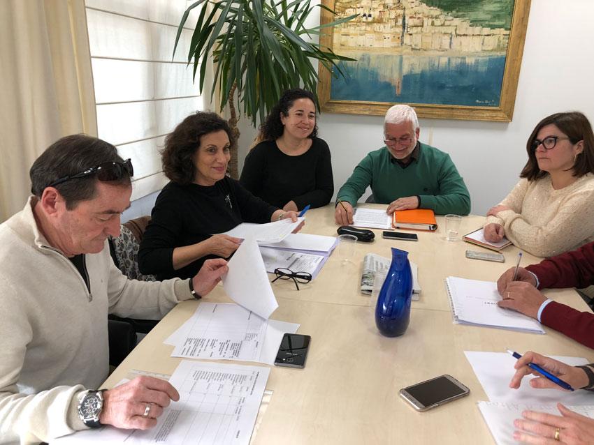 Reunió de treball amb la Directora Territorial d'Educació d'Alacant