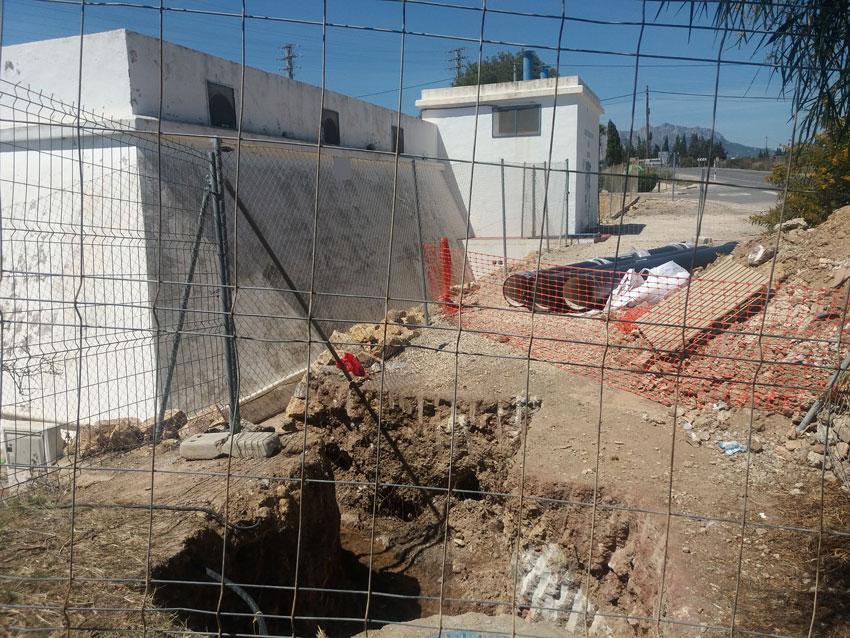 Instal•lat un cabalímetre i un «bypass» en el dipòsit d'aigua del Montahud
