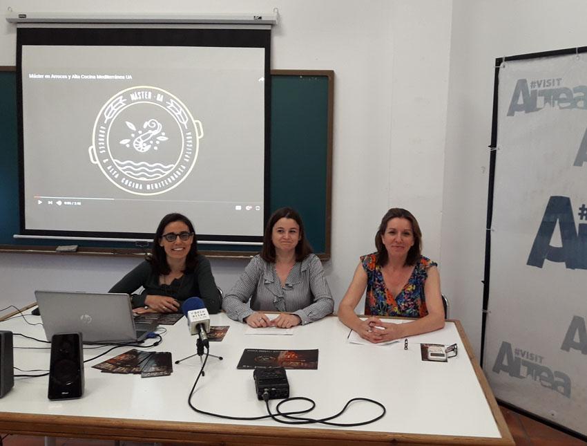 L'Ajuntament finançarà dues mitges beques per al Màster en Arrossos i Alta Cuina Mediterrània de la UA