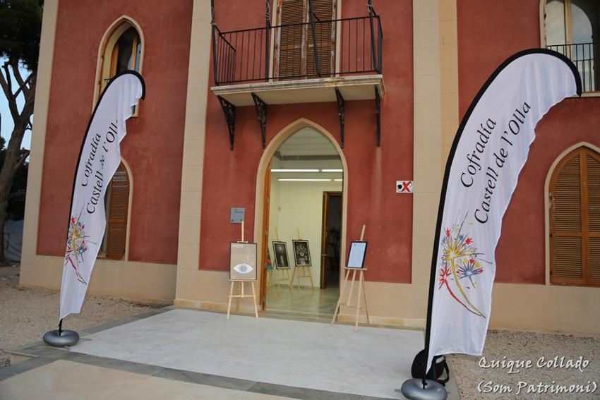 Se celebra, por primera vez, una exposición pública del patrimonio cultural pictórico del Castell de l'Olla