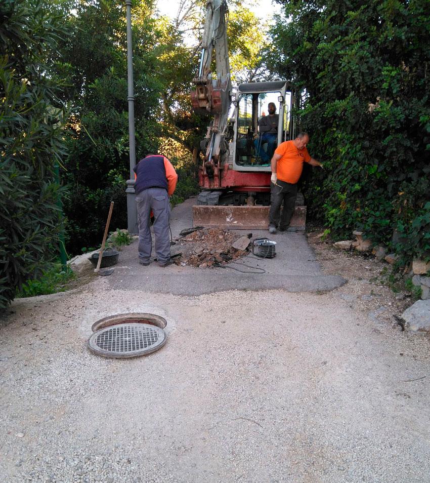 Roque Ferrer anuncia les obres de renovació de la xarxa de sanejament en diferents carrers dels nuclis històrics tradicionals