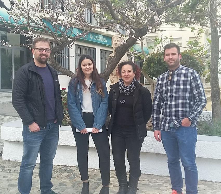 Ana Hernández y Carlos Oliver formarán parte de la delegación alteana en el próximo encuentro del Douzelage