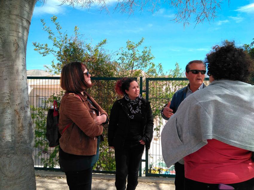Educació i Urbanisme visiten els centres educatius per tractar aspectes del Pla Edificant