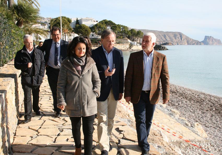 Costes inverteix 275.000 € en la rehabilitació i millora de la platja de Cap Negret