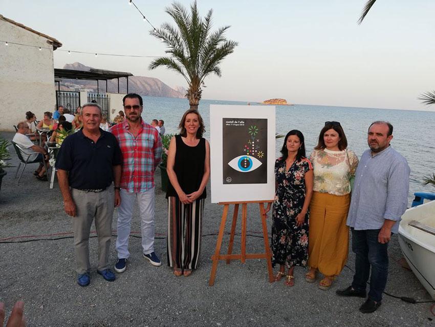 Es presenta la 32 edició del Castell de l'Olla amb les obres de les dues artistes, Lina Vila i Silvia Zarza, i la pirotècnia de Ricardo Caballer