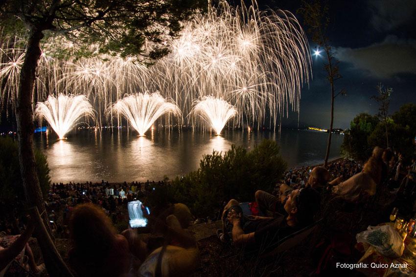 Más de 200 efectivos velarán por la seguridad en la noche del Castell de l'Olla el próximo 12 de agosto