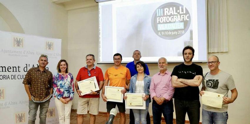 Àmplia participació en el Ral•li Fotogràfic i destacada posició dels competidors alteans