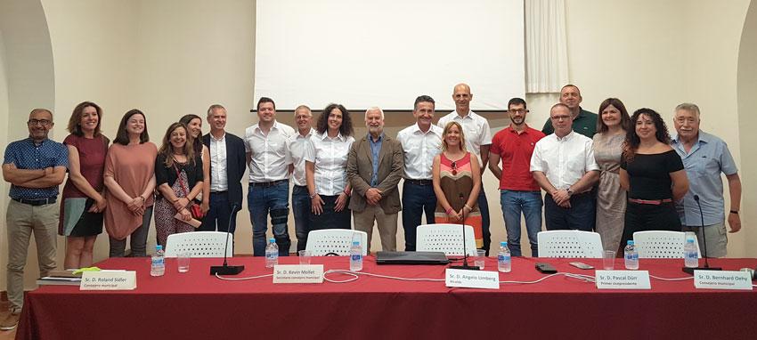 Altea acull un plenari extraordinari del municipi suís de Walenstadt