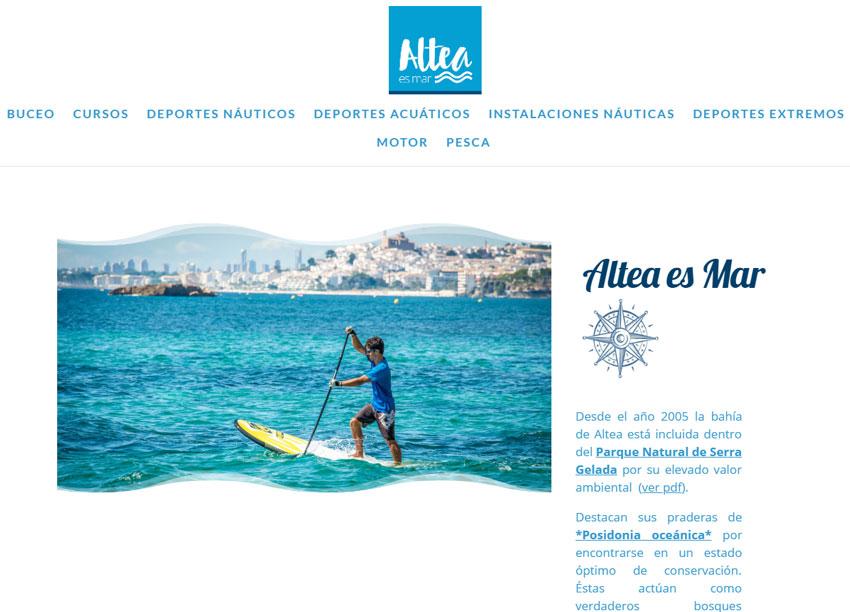 ''Altea és mar'' renova la seua imatge i aposta pel turisme nàutic sostenible
