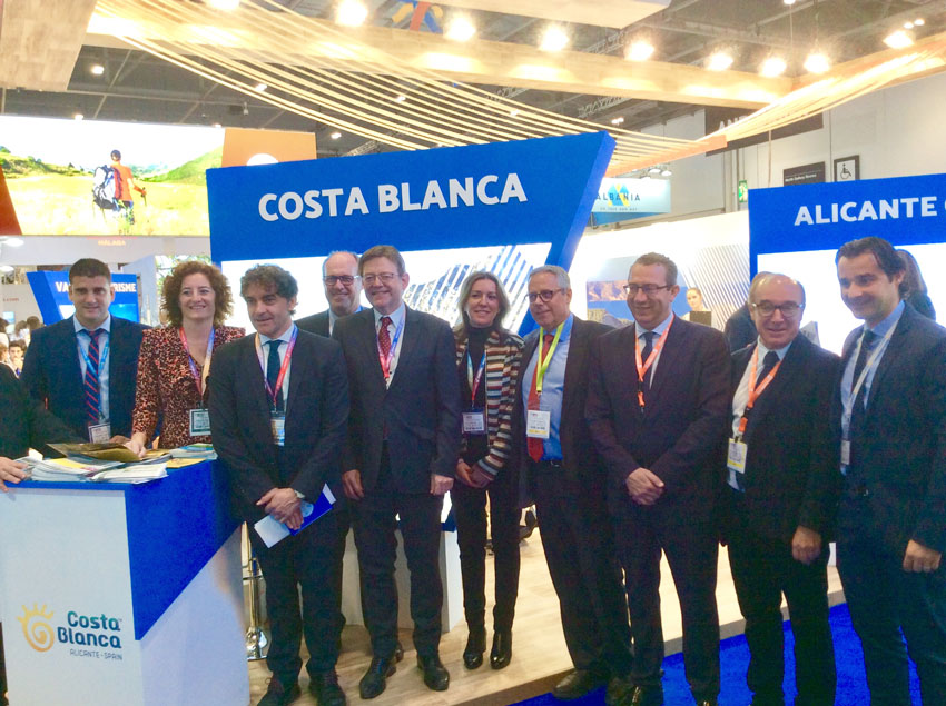 Altea es promociona a la World Travel Market de Londres