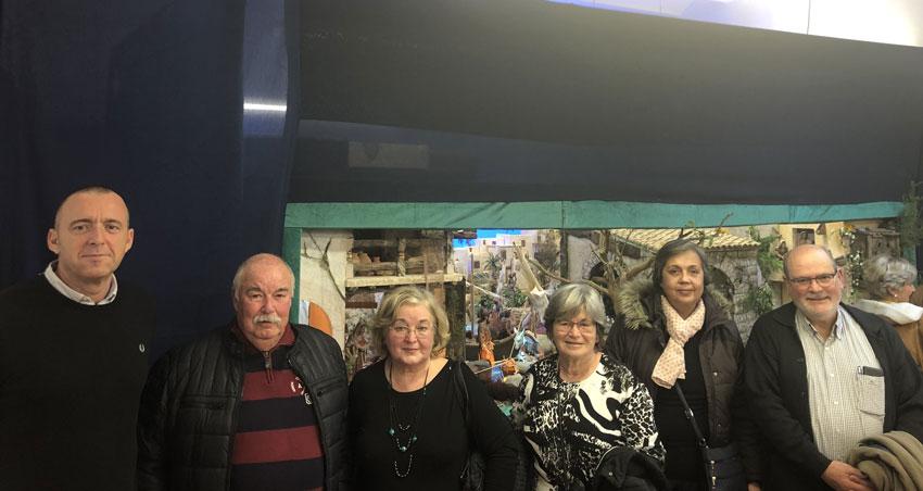Inaugurat a la Casa de Cultura el tradicional Betlem realitzat per l'Associació de Belenistes Marina Baixa