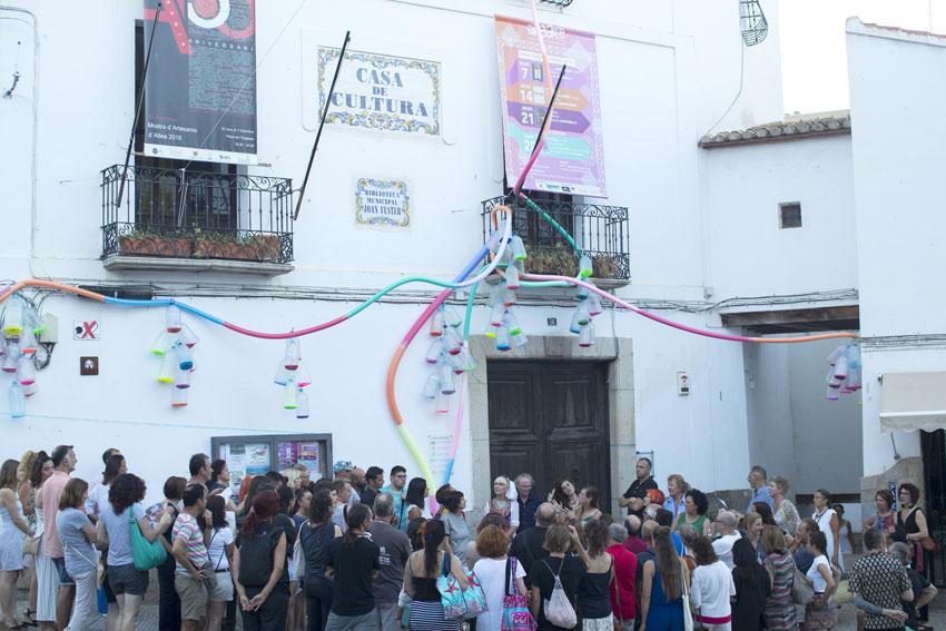 Ja es poden visitar les intervencions artístiques urbanes de Bellaguarda Inter B