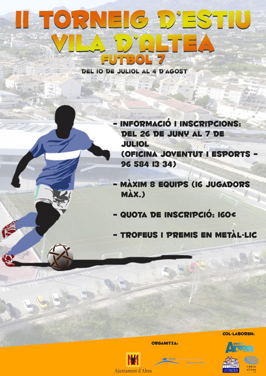 II edició del torneig de ''Futbol 7 Vila d'Altea''