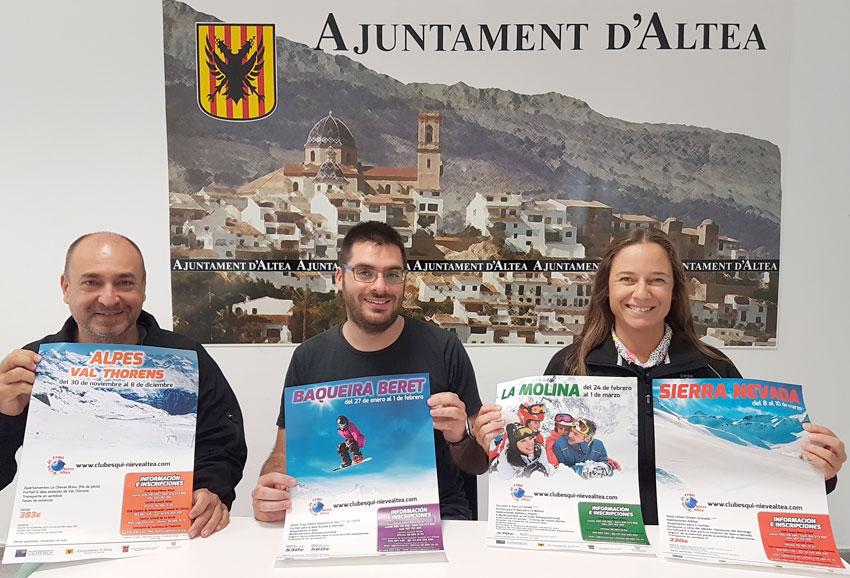El Club Esquí Nieve Altea obri les inscripcions per a la nova temporada