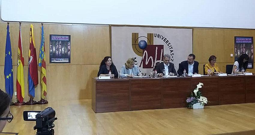 L'edil d'Igualtat participa al I Congrés Internacional sobre Violència de Gènere que se celebra a la UMH d'Elx