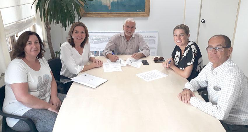 El Ayuntamiento y ALCEA suscriben, por segundo año consecutivo, un convenio de colaboración