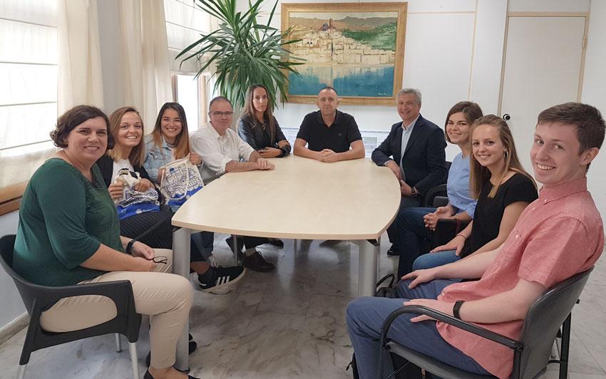 L'Ajuntament d'Altea incorpora, a través de l'Oficina de Projectes Europeus, EuroAltea, tres nous joves a llocs de pràctiques formatives en el marc del programa Eurodisea 2018-2019