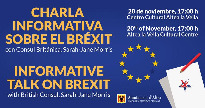 Participació Ciutadana organitza una xarrada informativa sobre el Brexit