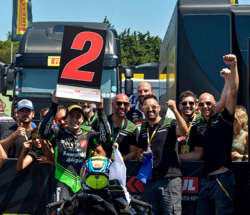 El pilot alteà, Mika Pérez, aconsegueix la segona posició al circuit de Misano a Itàlia