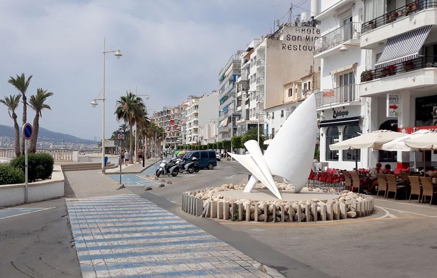Finalitza la restauració del Monument al Mariner del Passeig Marítim