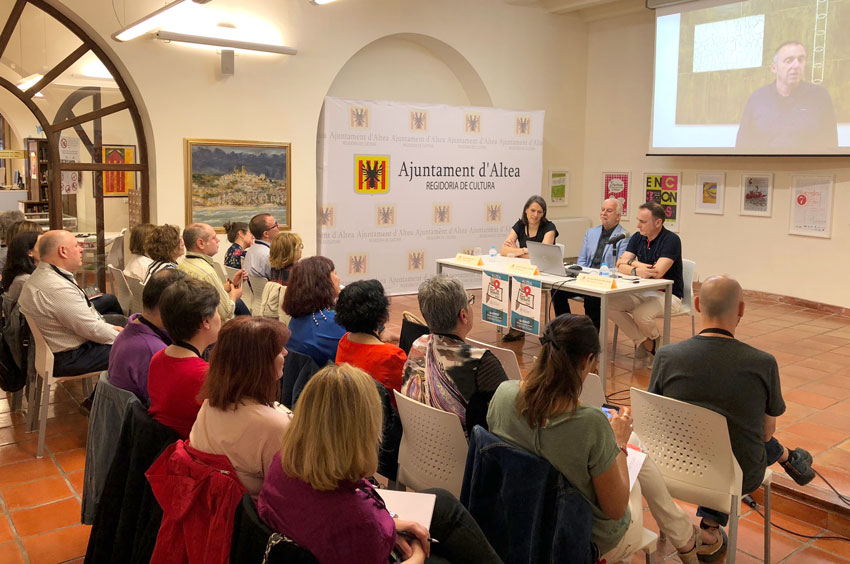 Altea, el ''Punt de Trobada'' de bibliotecaris de tota la Comunitat Valenciana