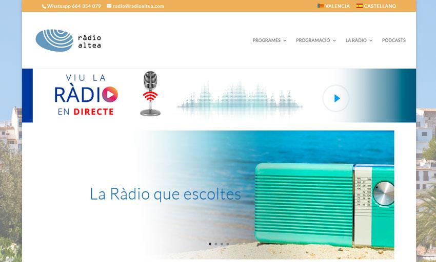 Les emissions de Ràdio Altea tornaran a la normalitat este dimecres