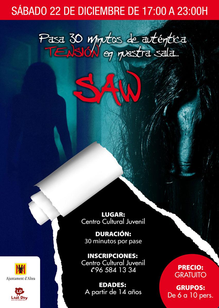 El Centre Juvenil es convertirà en una escape room amb la temàtica de les pel•lícules de la saga Saw