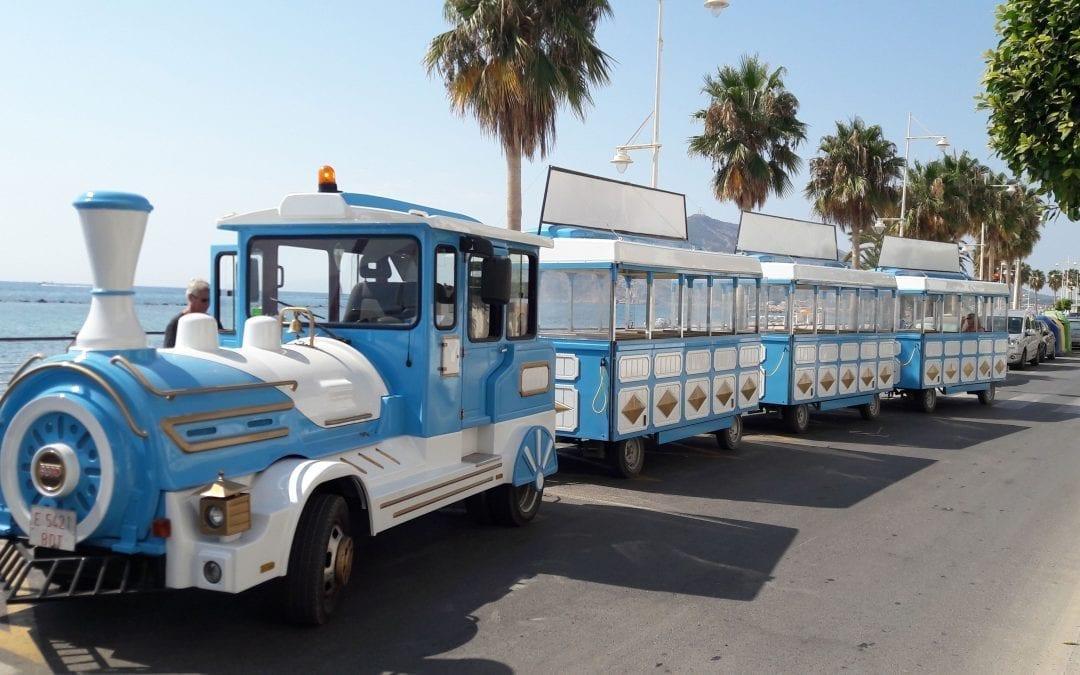 El tren turístic amplia servei a tot l'any