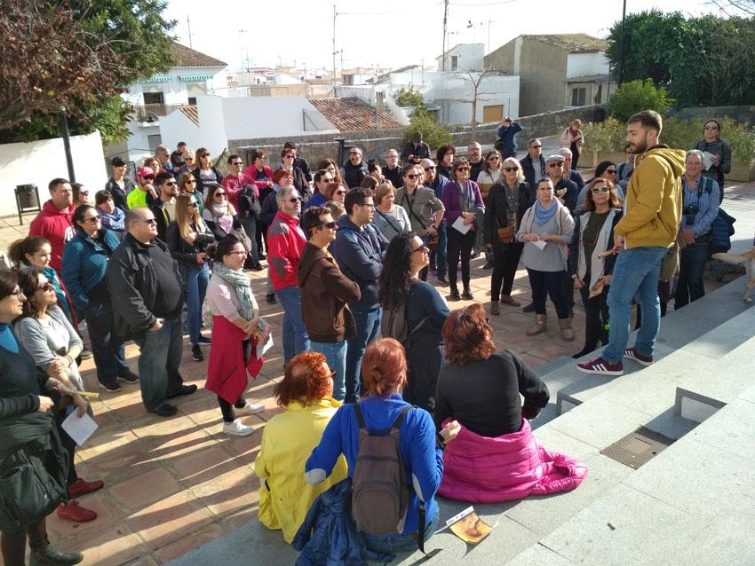 Més de 70 persones participen en la primera visita guiada del mes de febrer