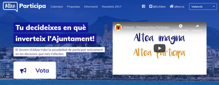 Desde hoy y hasta el 16 de diciembre se pueden votar los 10 proyectes finalistas de presupuestos participativos