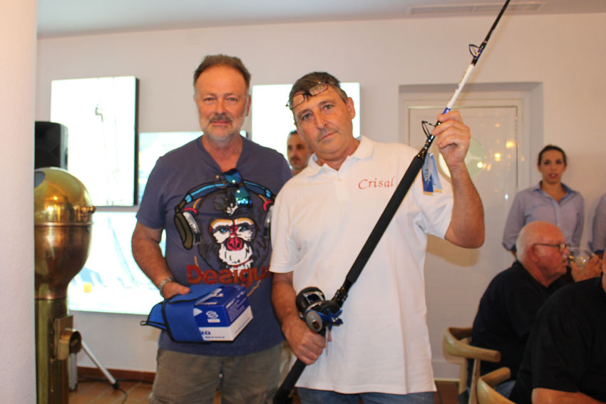 El Crisal gana el Concurso de Pesca al Curricán