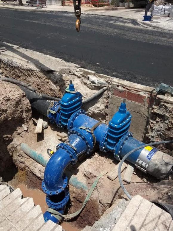 Cicle Hídric executa millores en la xarxa d'aigua potable d'Altea la Vella i dóna el primer pas per portar aigua del Consorci a l'Áramo