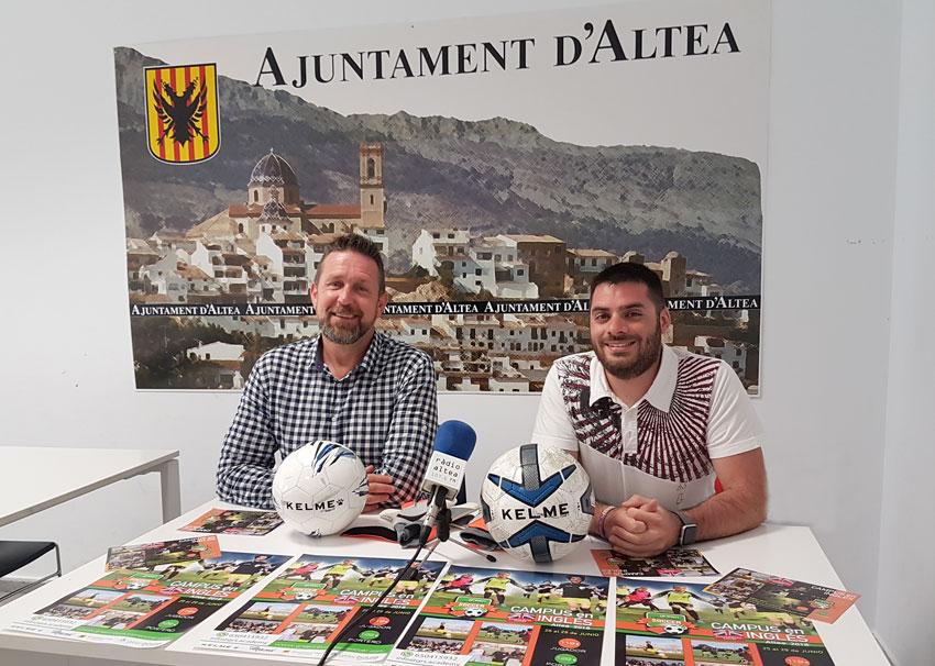 Esports anuncia que el Campus de Futbol d'Estiu serà en anglès