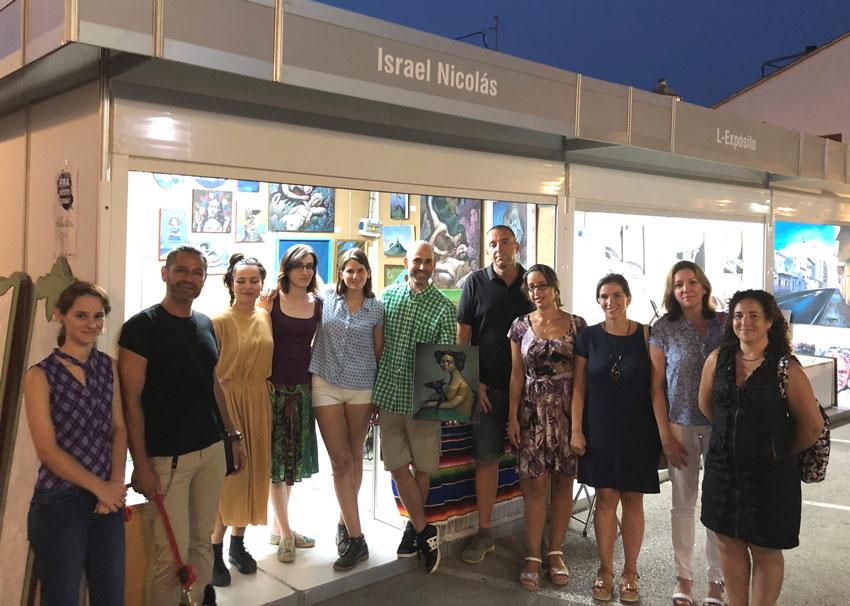 La XVIII edició de la Fira del Xicotet Format premia a Israel Nicolás