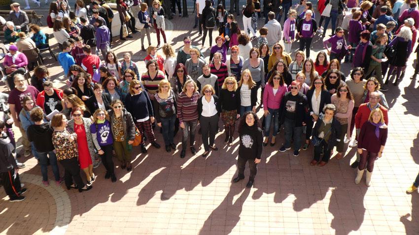 Altea es mobilitza en el Dia Internacional de la Dona