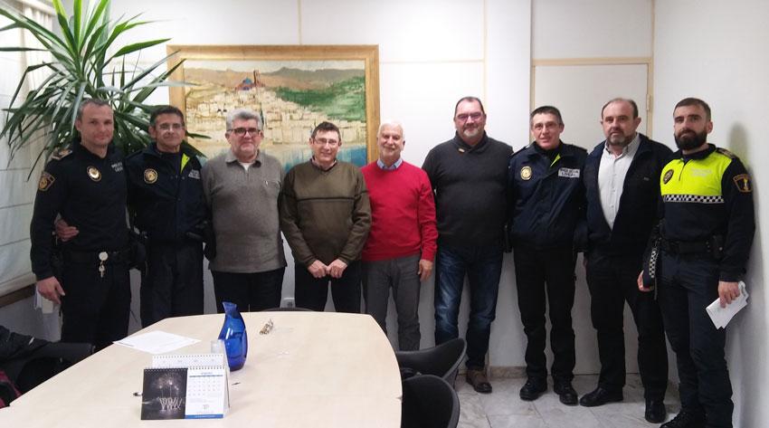 Noves jubilacions i incorporacions a la plantilla de la Policia Local d'Altea