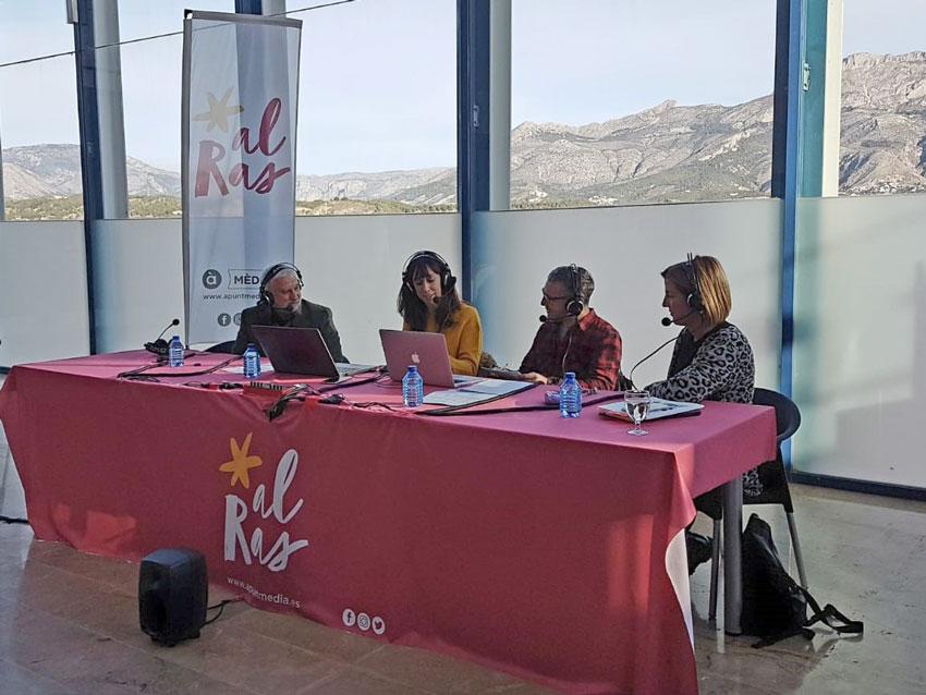 Jaume Llinares parla d'Altea Capital Cultural al programa 'Al ras' d'À Punt ràdio